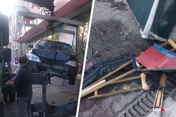 Под колесами иномарки мужчина погиб сразу