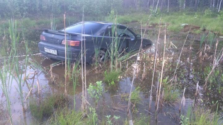 Водитель из Башкирии по вине дорожников улетел в болото