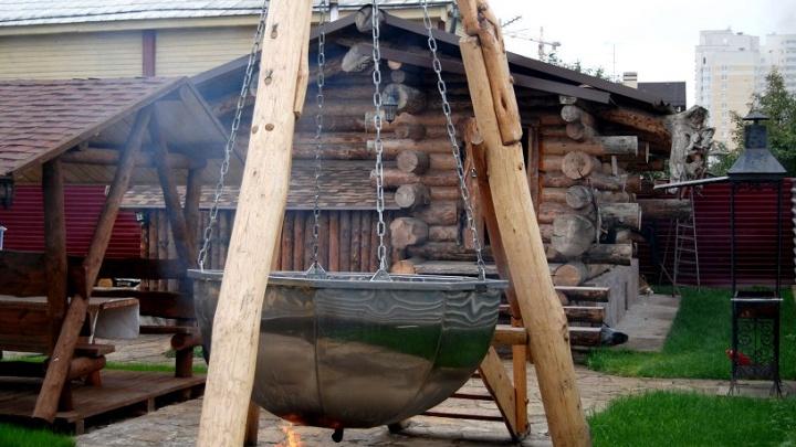 Джакузи на дровах