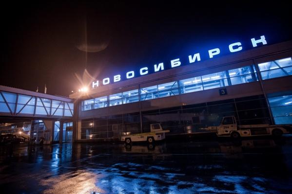 Самолёт уже вылетел из Новосибирска в Москву