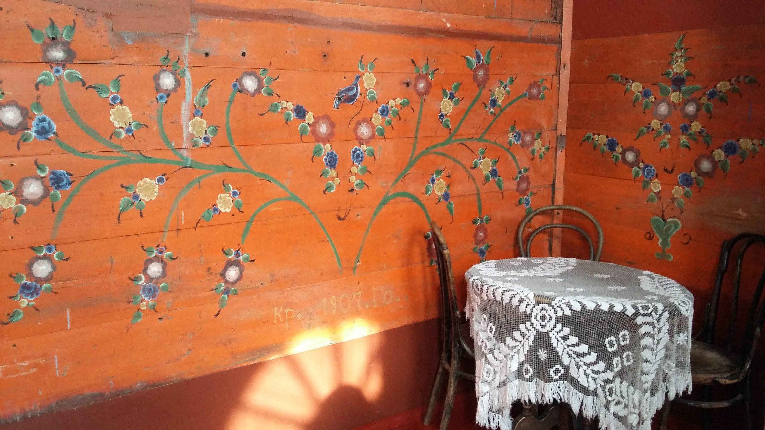 В музее единственная в мире коллекция народной росписи по дереву