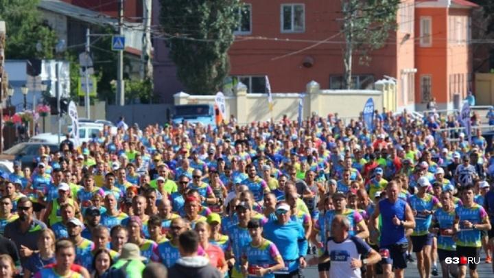 Бегу, потому что люблю: в Самаре пройдет марафон на Кубок мэра