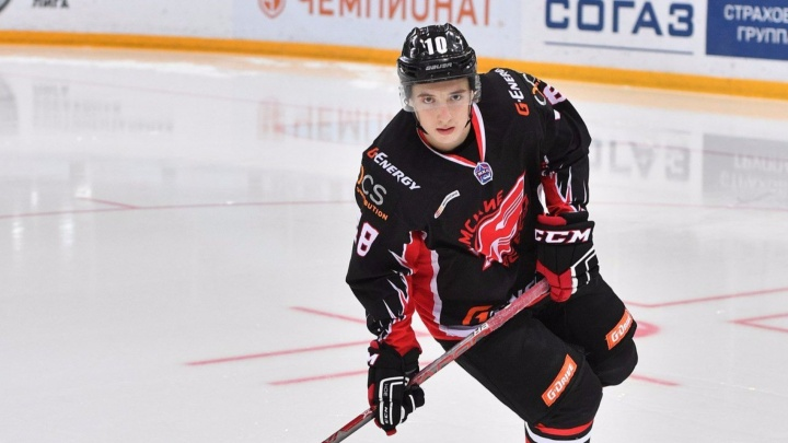 Канадский клуб НХЛ подписал воспитанника «Авангарда» на три года