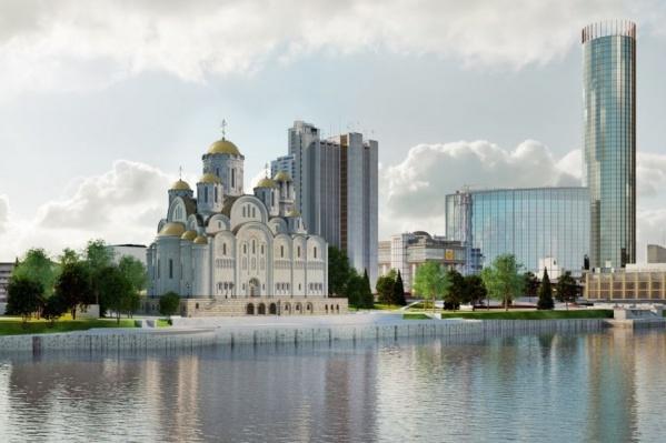 Храм появится на самом фотографируемом месте города