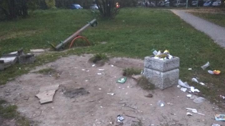 «Площадка для подготовки к взрослой жизни»: в Брагино нашли детский городок без детства