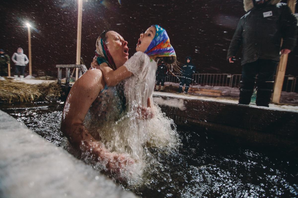 Крещению все возрасты покорны