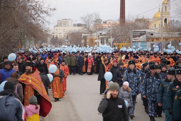 Крестный ход возглавит митрополит Екатеринбургский и Верхотурский Кирилл