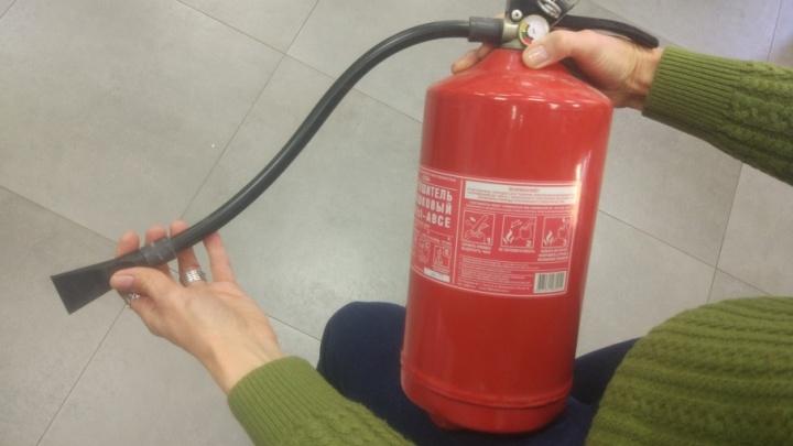 «Сметают с полок»: в Уфе после трагедии в Кемерово раскупили огнетушители