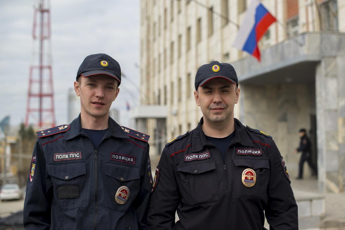Полицейские, которые спасли девочку