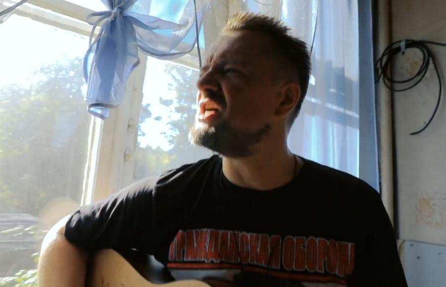 Ведущий «Галилео» снял клип накавер-версию песни «Гражданской обороны»
