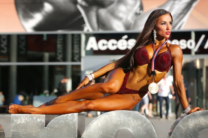 УралочкаЕкатерина Рыкова завоевала золото в Arnold Classic Europe 2018