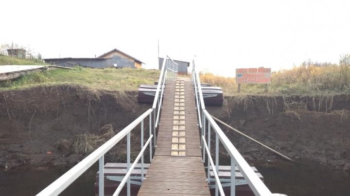 «Осторожно, опасный аттракцион»: многострадальный мост в селе Филькино превратился в скользкую горку