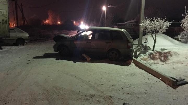 Доверился пьяному водителю: в Самарской области в ДТП погиб пассажир Lada Kalina