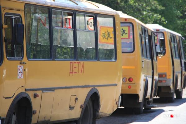 В Ростовской области около 300 школьных автобусов