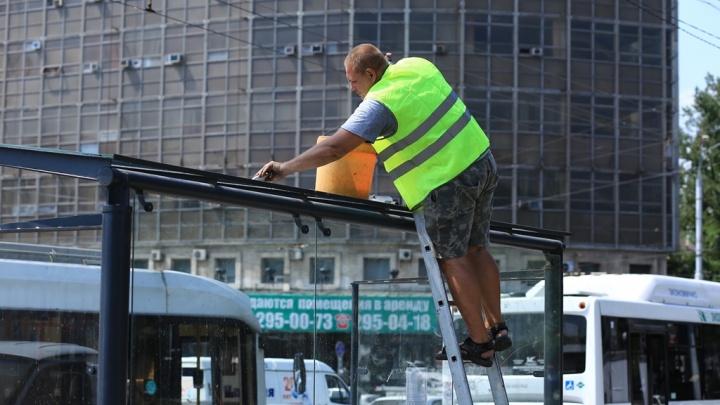 Подрядчик за свой счет отремонтирует «бракованные» остановки в Ростове