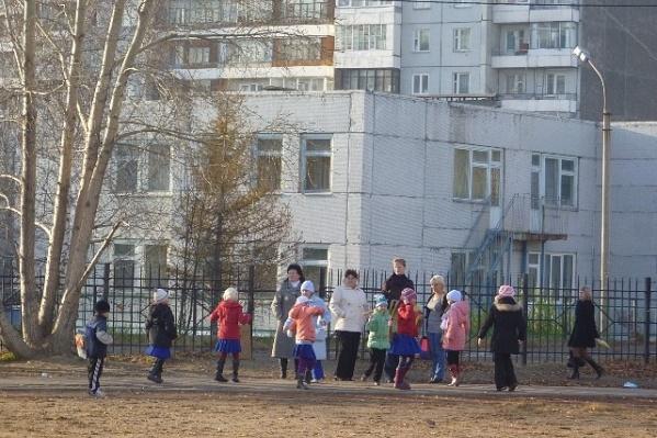 Школа № 139 в микрорайоне «Солнечный»