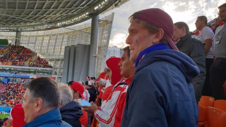 The Telegraph назвал «Екатеринбург Арену» сумасшедшим стадионом, где платят за просмотр игр на улице