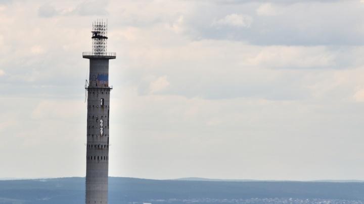 Яндекс снёс недостроенную телебашню раньше УГМК