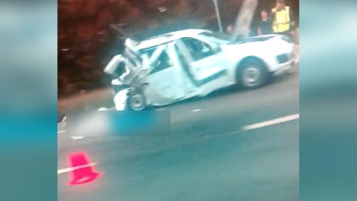 Смертельная авария на трассе в Башкирии: легковушка столкнулась с грузовой «Газелью»