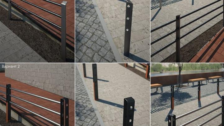 Заборы на улицах Красноярска ценой 3 тысячи за метр показали чиновники