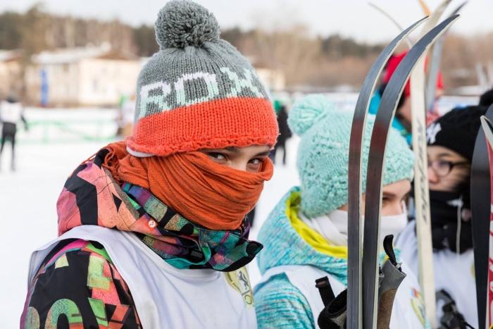 Три тысячи горожан приехали в Академгородок, чтобы покататься на лыжах