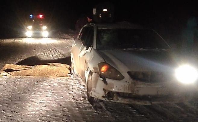 Водитель Toyota Caldina сбил двух женщин на трассе в Башкирии, одна из них скончалась на месте