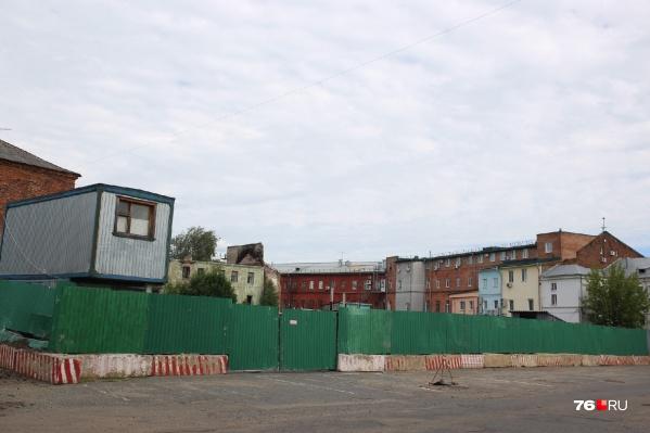 У «Старого города» могут построить многоквартирный жилой дом