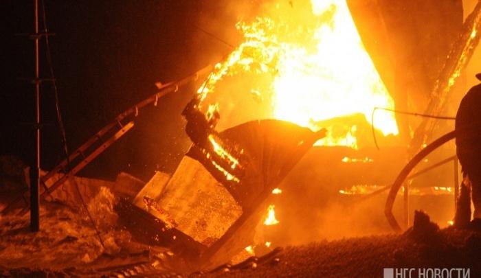 4-летний малыш сгорел в частном доме на Мясокомбинате