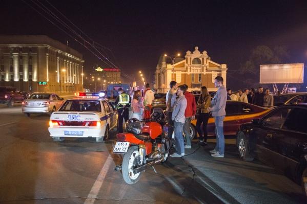 Сегодня автоинспекторы проявят повышенное внимание к шумным мотоциклистам