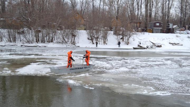 На реке, где искали пропавших Мазовых, спасли мужчину, который нуждался в помощи