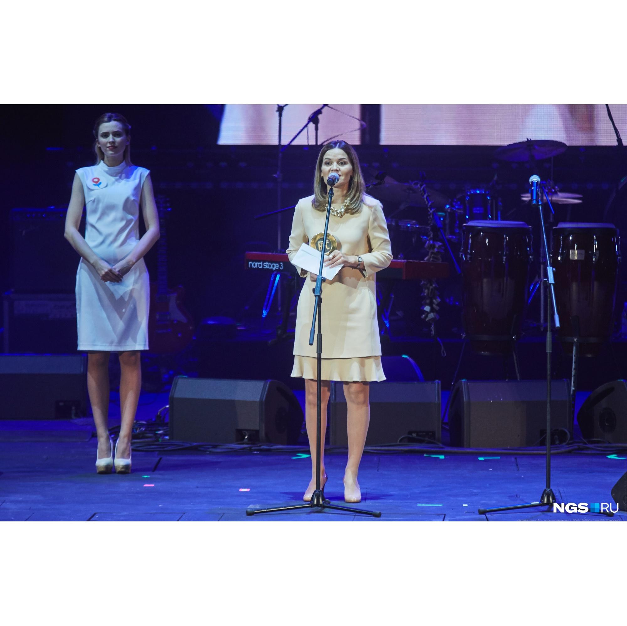 Наталья Сухарева отмечает, что премия положительно повлияла на доверие новосибирцев