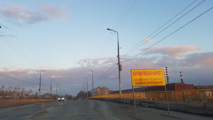 В Кургане власти готовят объездные пути к ремонту моста ЖБИ