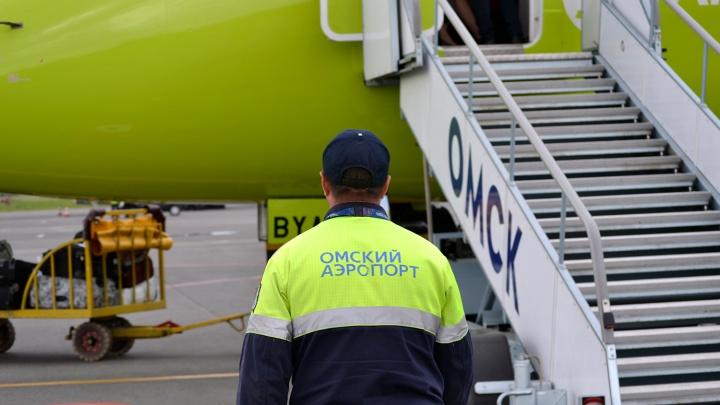 Омский аэропорт включил в новое зимнее расписание десять городов России