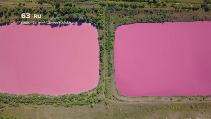 Эксперты выяснили, откуда в Самарской области взялись розовые озёра
