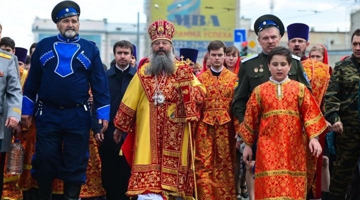 Центральные улицы Екатеринбурга перекроют на время пасхального крестного хода