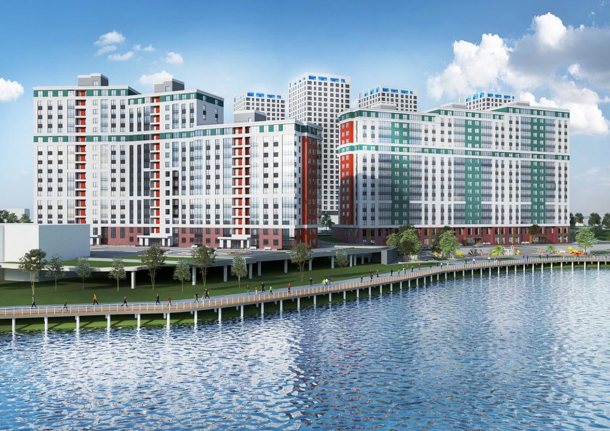 Обустройство новой городской набережной будет идти параллельно со строительством основного жилого массива
