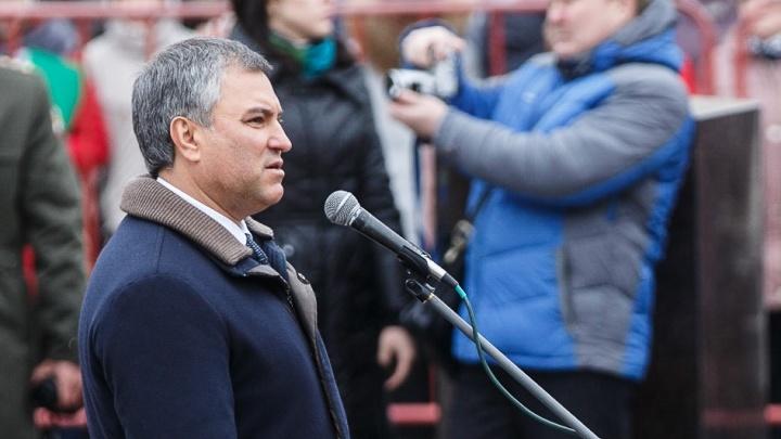 Председатель Государственной думы займется вымирающей Волгоградской областью