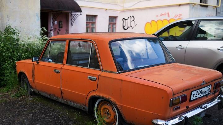 Мэрия Ярославля будет продавать машины-подснежники