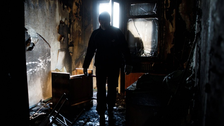 В «свечке» на Семи ветрах в Волгограде из-за курильщика вспыхнул пожар