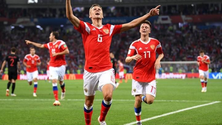 Денис Черышев вошёл в число самых популярных футболистов ЧМ-2018