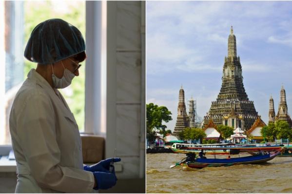 Чаще всего лихорадку Денге туристы привозят из Таиланда