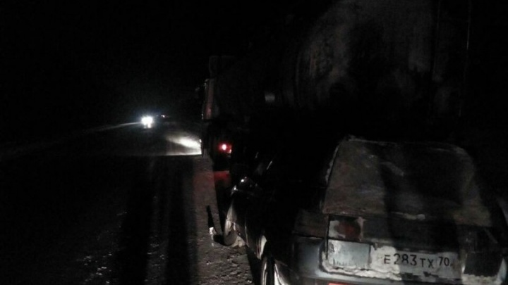 Трагедия под Искитимом: в ДТП на трассе погибли женщина и ребёнок