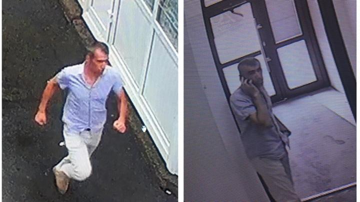 Надел и побежал: в Новосибирске полиция разыскивает подозреваемого в ограблении ювелирного магазина