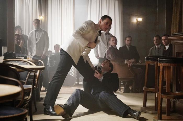 Сцена драки с участием Сергея Полунина