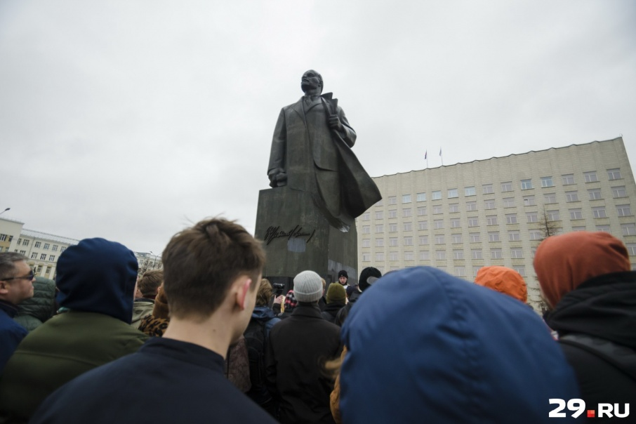 Митинг состоится 12 июня в 12 часов у Соловецкого камня