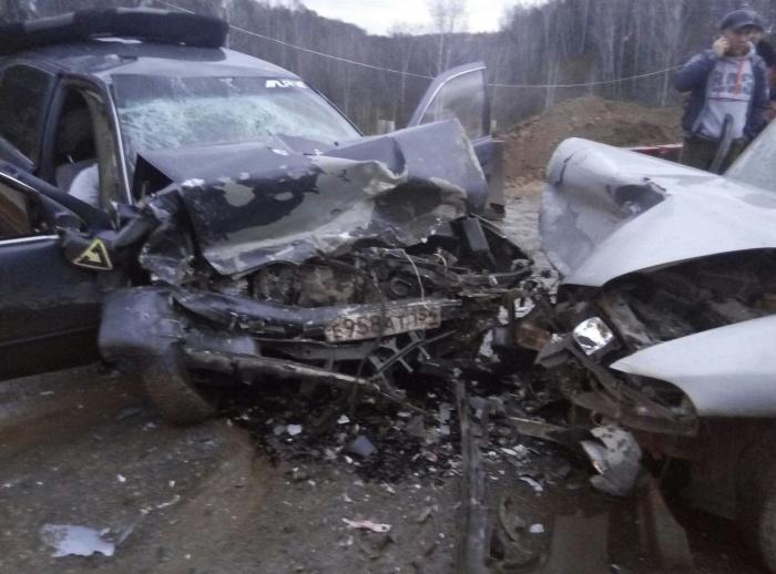 33-летний водитель «Тойоты» погиб на месте