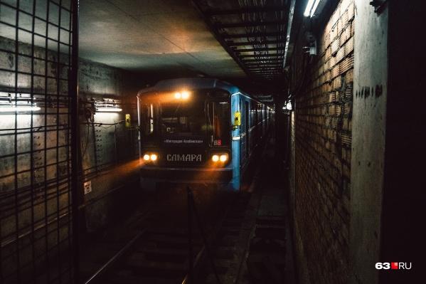 Сейчас конечная станция метро в центре Самары — «Алабинская»