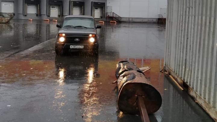 «Когда смерть — имущество города»: в Архангельске нашли исчезнувший дорожный знак с косой