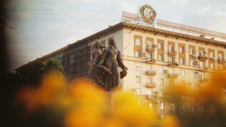Как 42 года назад: фотограф снял набережную Волгограда на старый пленочный фотоаппарат
