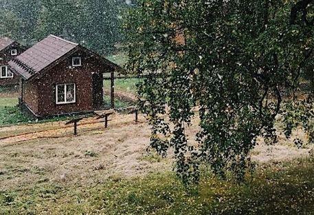 Зима близко: первый снег в Красноярске выпал на «Столбах»